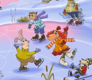 Kooligrupiga jõulumaale