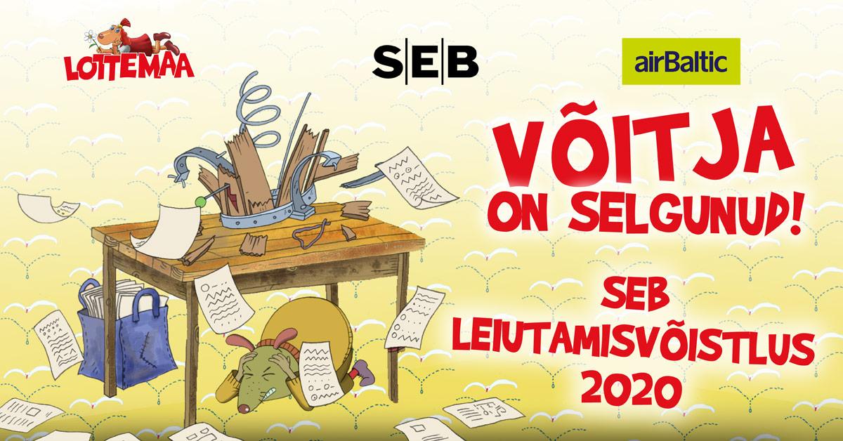SEB Leiutamisvõistlus 2020 võitja on selgunud!