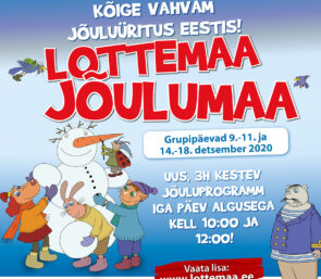 Kooli ja lasteaiaga Jõulumaale!