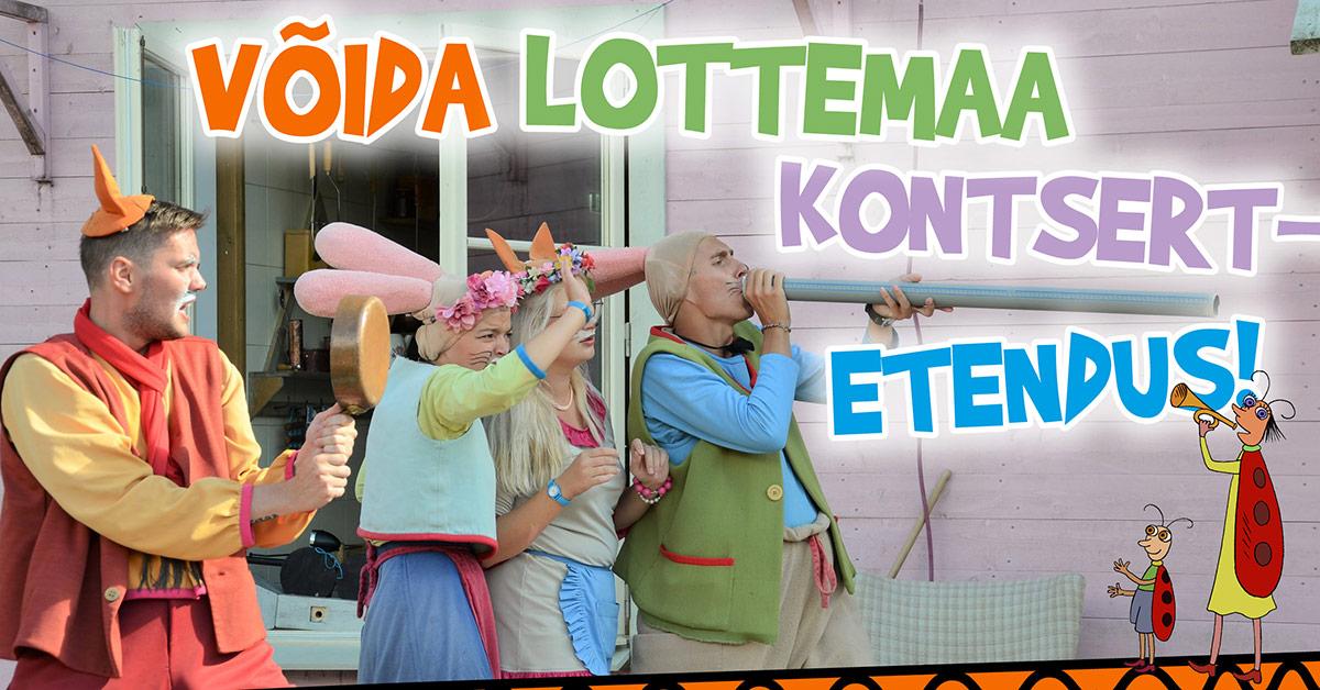 Lottemaa kontsertetendus sinu üritusele!