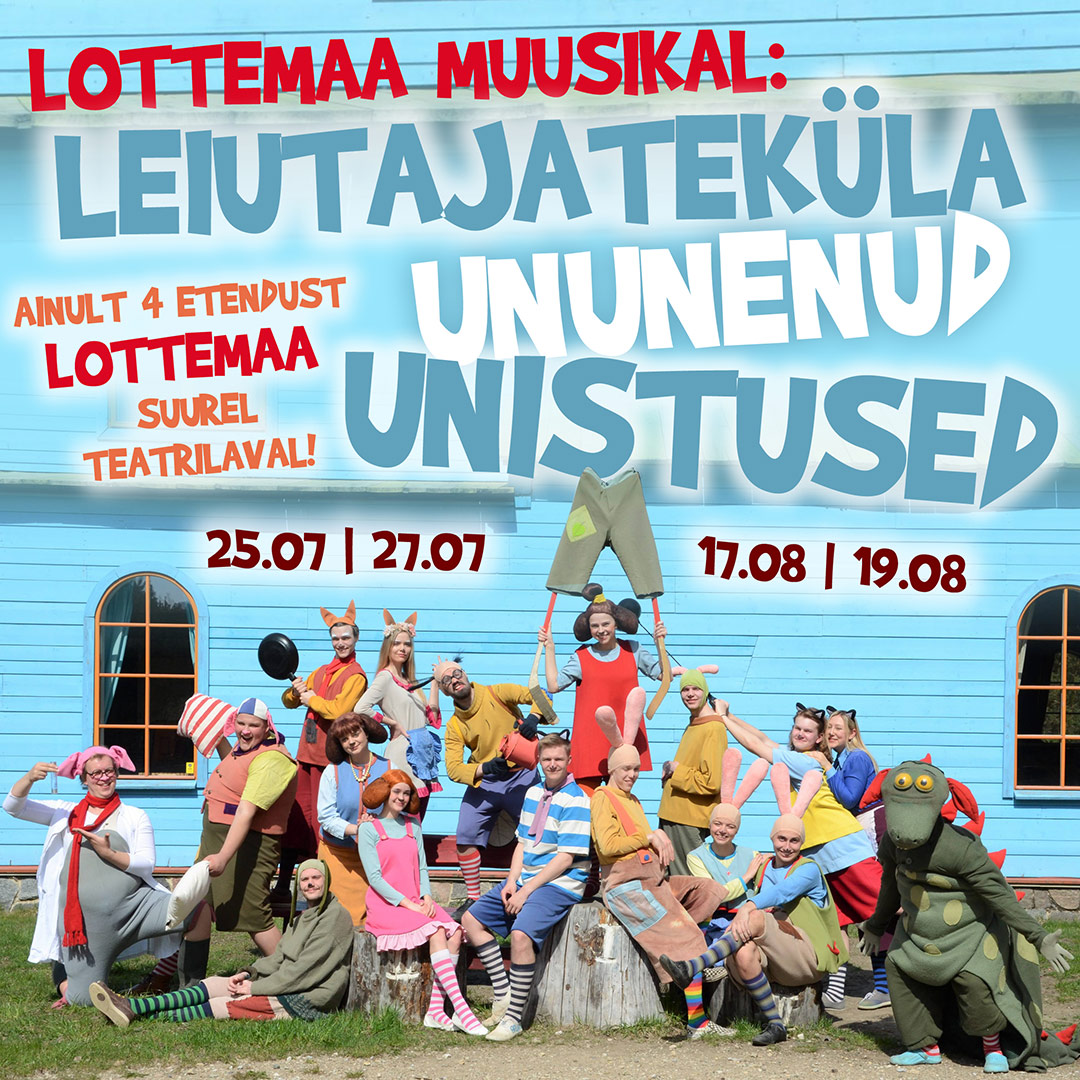Lottemaa muusikal - Leiutajateküla ununenud unistused!